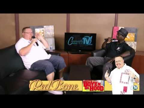 8 29 2013 COMEDIAN RED BONE Sit Down with Joe Mobley Only On CommunityTV1