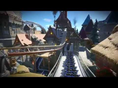 Thunderstorm Planet Coaster Launch-Coaster WIP FantasyWorld 2016 *download in video-notes*
