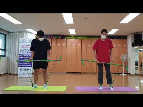 8월 비대면 체육지도영상 - 짐스틱 타바타 1탄  (구본욱 지도자)