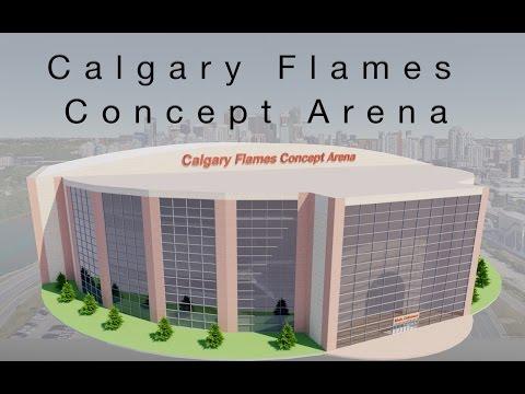 Calgary Flames Concept Arena (Version 5 official)