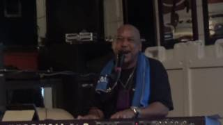 "Skipp on Drums; Duane Brown; Bassist; Bobby Jones on Keyboard featuring Gregory ""Starr Childd"" Houston on Guitar perform ""The Lord Will"" at J B's Lounge & Grill"
