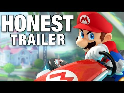 Honest Video Game Trailers Mario Kart