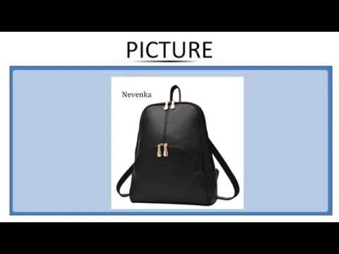 Nevenka Women Backpack Leather Backpacks Softback Bags Brand Name Bag Preppy Style Bag Casu