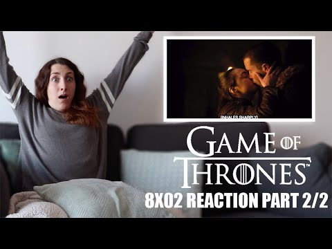 """GAME OF THRONES 8X02 """"A KNIGHT OF THE SEVEN KINGDOMS"""" REACTION PART 2/2"""
