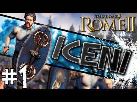 Total War: Rome II: Iceni Campaign #1 ~ Briton's Revived!