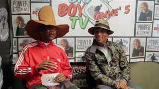 Pharrell Explains Why He Doesn't Age, What Makes Him Happy, and More! | BigBoyTV
