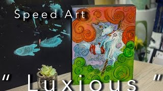 "Speed art video for "" Luxious """
