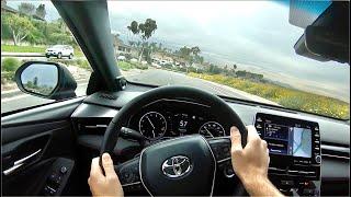 2020 Toyota Avalon TRD POV Drive (3D Audio) by MilesPerHr