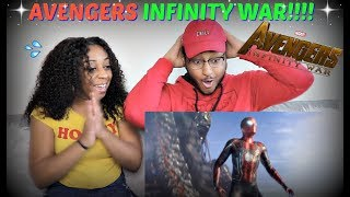 Marvel Studios' Avengers: Infinity War Official Trailer REACTION!!!!