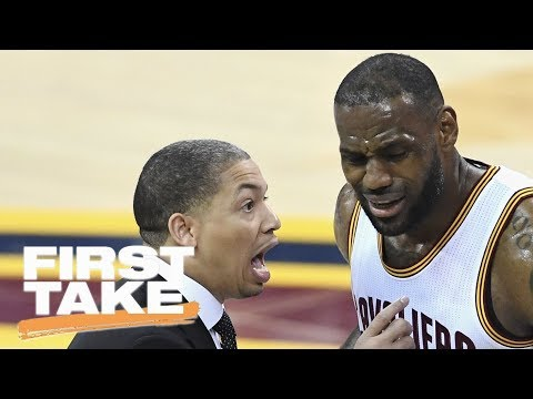 LeBron James and Tyronn Lue reportedly 'cooled' on Isaiah Thomas trade | First Take | ESPN