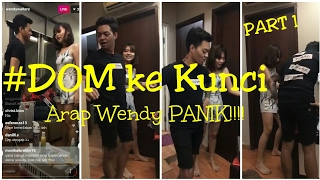 Video Arap Wendy Panik!!! #DOM kekunci dikamar (part 1) MP3, 3GP, MP4, WEBM, AVI, FLV September 2018