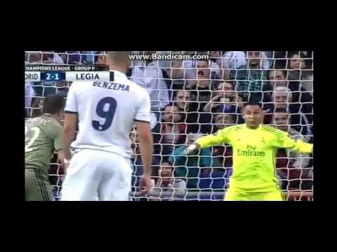 Real Madrid vs Legia Warszawa 5-1 Highlights 18-10-2016