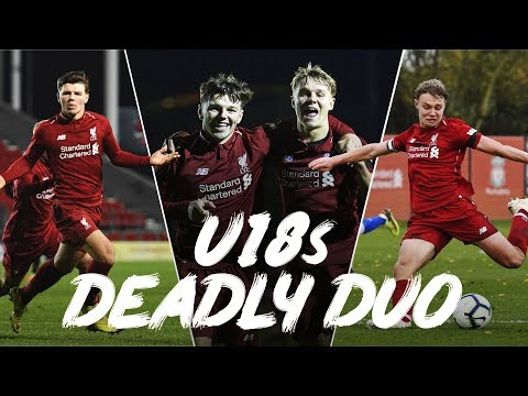 Bobby Duncan And Paul Glatzel | Best Goals So Far From Liverpool's Prolific Partnership