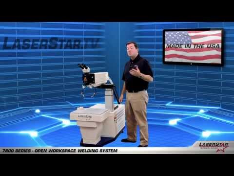 "<h3>Mold Repair Laser Welding Workstation</h3>In this laser welding video brought to you by <a dir=""ltr"" title=""http://laserstar.net"" href=""http://laserstar.net"" target=""_blank"" rel=""nofollow"">http://laserstar.net</a>, we demonstrate the New 7800 Series Open Workspace Laser Welding Workstation currently available at LaserStar Technologies.<br /><br />"