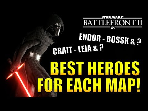 BEST HEROES FOR EACH GALACTIC ASSAULT MAP! - Star Wars Battlefront 2