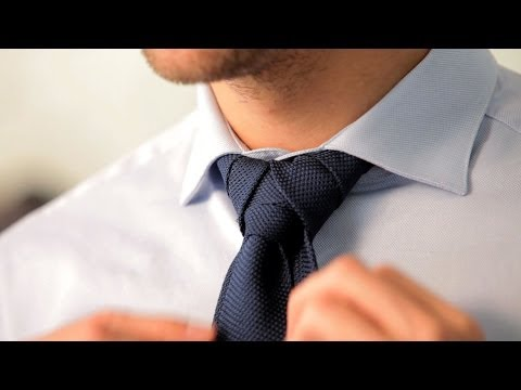 How to Tie a Merovingian Knot | Men's Fashion