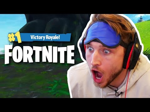 HOW TO MAKE TOP 2 IN FORTNITE BLINDFOLDED