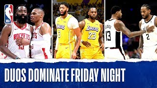 Dynamic Duos DOMINATE Friday Night! by NBA