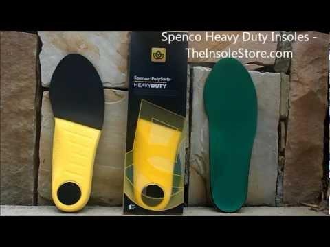 Spenco Heavy Duty Insoles Review @ TheInsoleStore.com