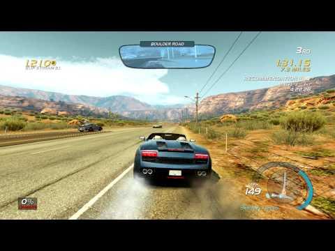 Need for Speed Hot Pursuit система Autolog: Солнце, песок и суперкары