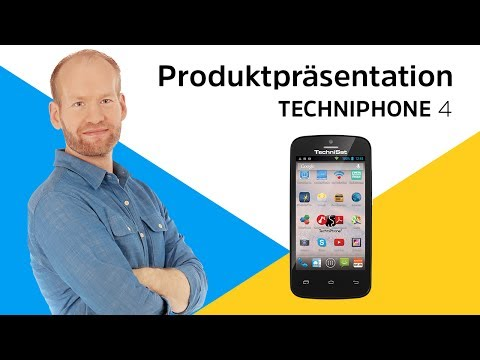 Youtube Video TechniSat TechniPhone 4 schwarz