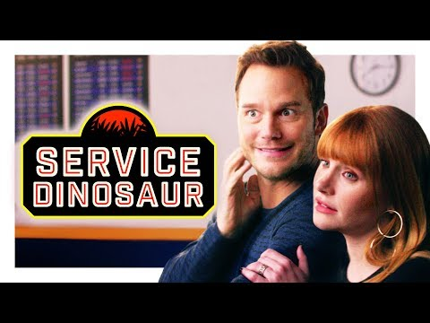 Download My Dinosaur Is a Service Animal (with Chris Pratt and Bryce Dallas Howard!) HD Mp4 3GP Video and MP3