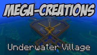Minecraft: Mega-Creations Ep.56 - Underwater City - YouTube