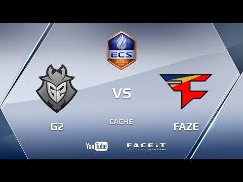 G2 vs FaZe, cache, ECS Season 4 Europe