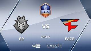 G2 vs FaZe, ecs s4, cache