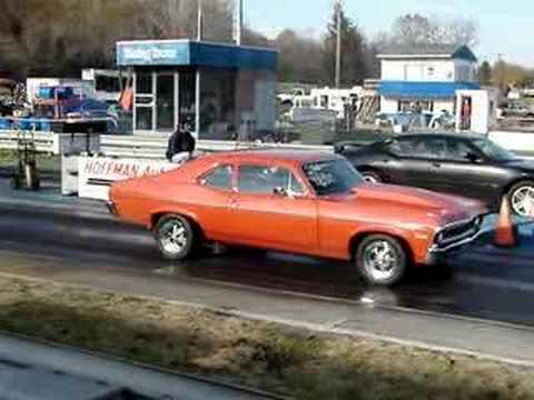 72 Nova-Catching the Hemi Charger R/T