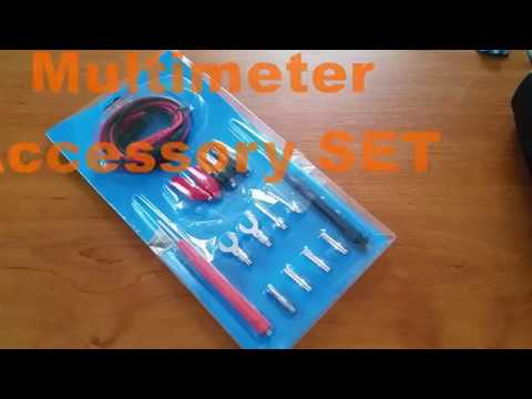 Full Set Multifunction Digital Multimeter Probe Test Leads Cable from Banggood