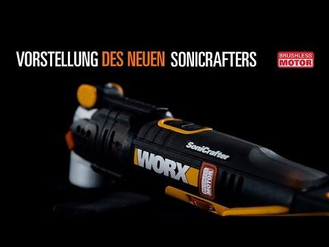 WORX WX693 20V BÜRSTENLOSER SONICRAFTER  - Deutsch - www.worx.com