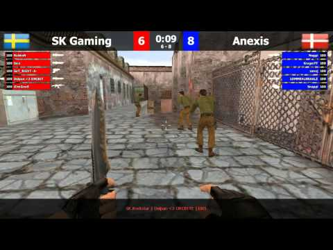 FCL Semis: SK Gaming vs Anexis de_mirage