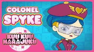 """Colonel Spyke has been in charge of protecting Harajuku City for years. She never knows what's coming, so she has a plan for every crisis. She has plans Alpha-plan-Alpha through Charlie-plan-Zulu, covering almost every problem imaginable. She rarely stops to think a situation through, but charges right in to protect her city.  """"Non-aliens, please clear the area if you do not wish to be vaporised.""""For more Kuu Kuu Harajuku be sure to subscribe so you don't miss out on exclusive clips, videos and online content. Official Kuu Kuu Harajuku Site: www.kuukuuharajuku.comFacebook: https://www.facebook.com/kuukuuharajuku/Twitter: https://twitter.com/kuukuuharajukuInstagram: https://www.instagram.com/kuukuuharajuku/?hl=enWelcome to KuuKuuTube, the official YouTube channel for Kuu Kuu Harajuku. Join Love, Angel, Music, Baby, G and manager Rudie on their super cool music fuelled adventures as kawaii band HJ5."""