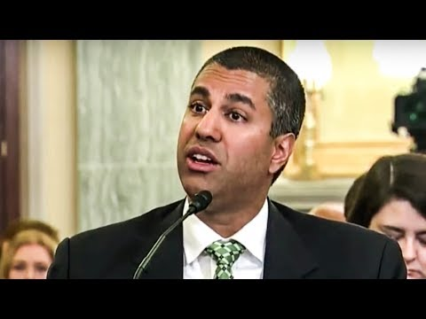Ajit Pai Flails Big Time During FCC Hearing (видео)