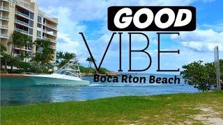 Boca Raton (FL) United States  City new picture : Good Vibe da Praia de Boca Raton FL USA / Eu na America