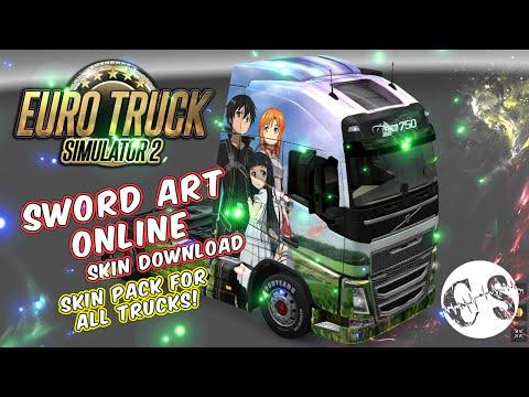 Sword Art Online Skin Pack for All Trucks + Volvo Ohaha