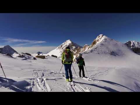 Sci alpinismo Cima Venezia e Pisgana