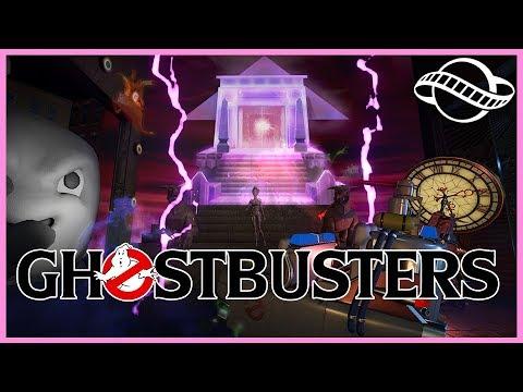 GHOSTBUSTERS Shooting Ride!! & Collectors Curse! Ride Spotlight 105 #PlanetCoaster