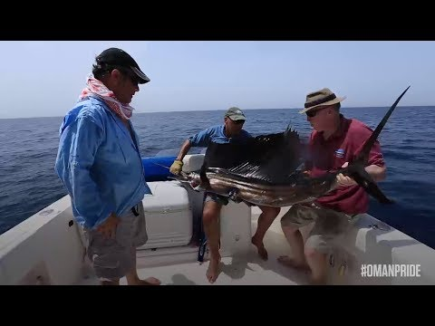 Video: Here's where you can try your luck at big-game fishing in Oman