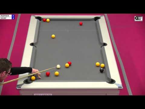 TR6 2012-2013 Bretagne Blackball - Sébastien Ramier vs Yannick Geay