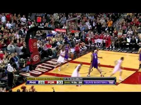 Wesley Matthews dunk vs Phoenix Suns