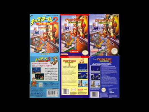 chip n dale rescue rangers 2 nes rarity