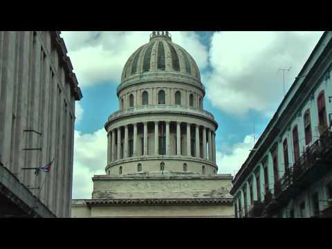 Capitolio Nacional you can see everywhere in Havana, Cuba