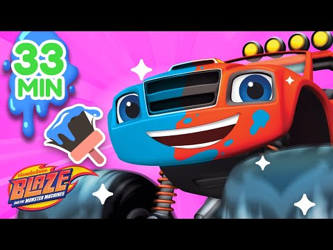 Makeover Machines 1-6 Compilation! | Blaze and the Monster Machines