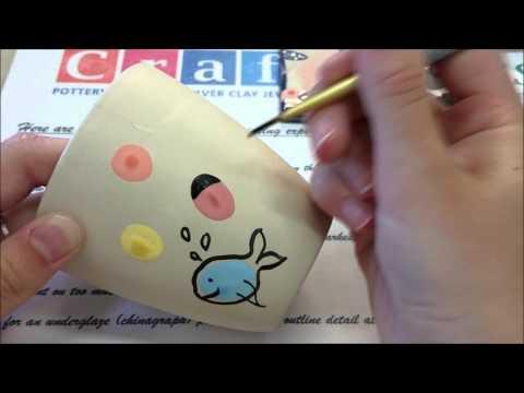 Fingerprint Characters Painting Technique