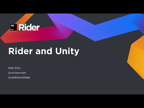 JetBrains Rider for Unity Development