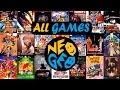 Cat logo Completo De Neogeo 148 Juegos all Games