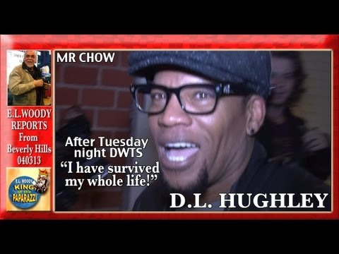 D.L. Hughley Survives DWTS Dines at MR CHOW W040313