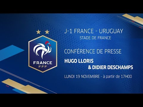Video La conférence de Lloris et Deschamps (Replay) , Équipe de France I FFF 2018 download in MP3, 3GP, MP4, WEBM, AVI, FLV January 2017
